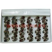Набор колец размер 17-19 два цвета цена за упаковку 12 шт