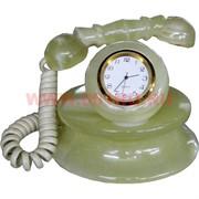 """Часы из оникса """"Телефон"""" малый"""