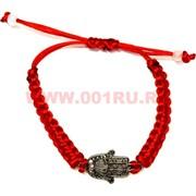 Браслет «ладошка» с красной ниткой цена за 100 шт