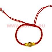 Браслет красная нить + фурнитура (D-1445) цена за 100 шт
