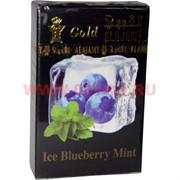 """Табак для кальяна Al Ajamy Gold 50 гр """"Ice Blueberry Mint"""" (альаджами черника мята лед)"""