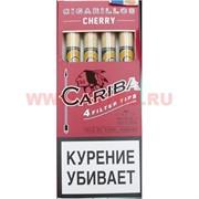 """Сигариллы Cariba """"Cherry"""" 4 шт с фильтром"""