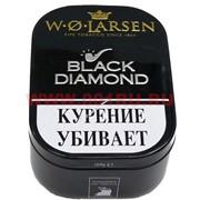 """Трубочный табак W. O.Larsen """"Black Diamond"""" 100 гр в коробочке"""