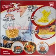 Сетка-корзинка для картошки, макарон и т.д. (Chefbasket) шефбаскет 100 шт/кор