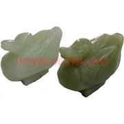 Утки мандаринки из нефрита (цена за пару) 5 см