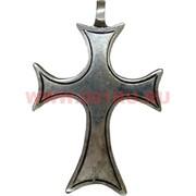 Крест из металла (мельхиор) 7,2 см