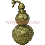 """Нецке, символ Феншуй """"тыква-горлянка"""" открывающаяся из полистоуна (NS-652D)"""