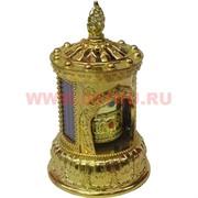 Буддийский молитвенный барабан с мантрами на солнечных батареях