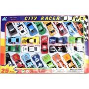 Машинки гоночные City Racer 20 шт/уп