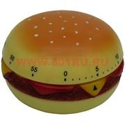 """Таймер для кухни """"Гамбургер"""" (8 см ширина)"""