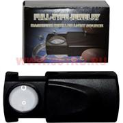 Лупа выдвижная с детектором банкнот малая (30х21мм)