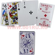 Карты игральные № 9817 с пластиковым покрытием 36 карт, цена за 12 упаковок