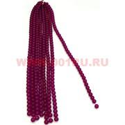 Нитка бусин фиолетовый кварц 10 мм цена за 1 нитку