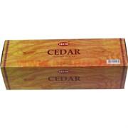 """Благовония HEM """"Cedar"""" четырехгранники, цена за уп из 25 шт"""