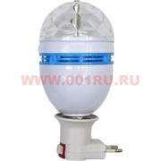 Лампа крутящаяся 220V