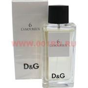 "Туалетная вода Dolce & Gabbana ""6 L Amoureux"" 75мл женская"