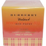 "Парфюм вода Burberry ""Weekend Red Point"" 100 мл женская"