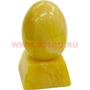 Яйцо под янтарь с подставкой 8 см светлое (RK-155)
