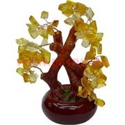 Дерево счастья (GV-15) 18 см со скрещенными стволами