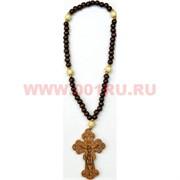 Деревянный крест с четками цена за 50 штук