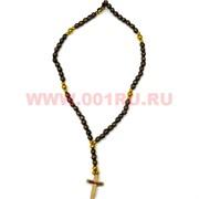 Деревянный крест с четками 69 шт цена за 50 шт