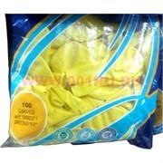 Шарики воздушные 10 дюймов (G90/02) пастель Yellow 100 шт