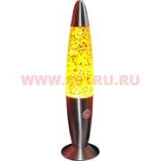 Светильник восковый с конфетти 48 см, цвета в ассортименте