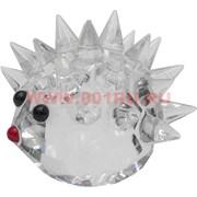 Ежик стеклянный прозрачный 5,2 см