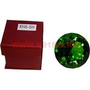 Кристалл Бриллиант зеленый 6 см (XH6-5H)