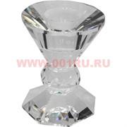 Подсвечник стеклянный (2) 8 см
