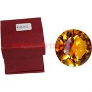 Кристалл Бриллиант янтарный 6 см (XH6-5-G)
