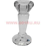 Подсвечник стеклянный (4) 11,5 см