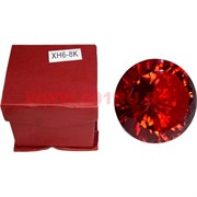 Кристалл Бриллиант красный 8 см (XH6-8K)