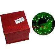 Кристалл Бриллиант зеленый 8 см (XH6-8H)