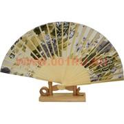 Веер бамбуковый с шелком, цена за 10 шт/уп