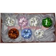 Бриллианты 1 качество 50 мм стеклянные 7 шт/уп