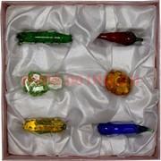 Кристаллы «овощи» набор из 6 штук