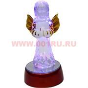 Ангелочек светящийся на подставке с батарейками