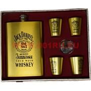 Набор «Виски Jack Daniel's» (003-8) фляга 9 унций и 4 стаканчика