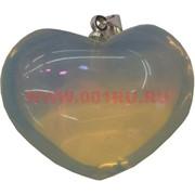 Сердце «лунный камень» 2,5х3 см