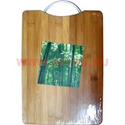 Доска разделочная кухоная 3 размер (бамбук)