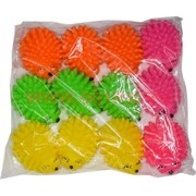 Ежики-шуршики со звуком, цена за 12 шт