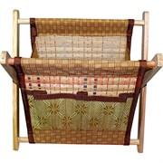 Газетница из бамбука средняя