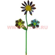 "Крутяшка ветряная ""3 цветка"" 57 см"