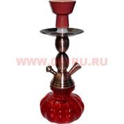 Кальян малый (A1155) на 1 трубку цвета миксом 27 см (металл, стекло) 24 шт/кор
