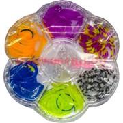 Набор цветных резинок 6 отделений