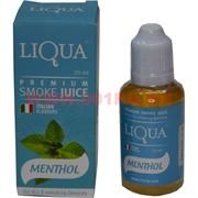 """Жидкость для электронных сигарет """"Liqua"""" Mentol 30ml"""
