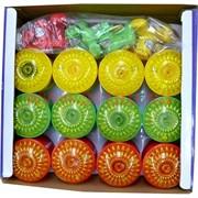 Юла светяшка-крутяшка, цвета в ассортименте, цена за 12 шт/уп
