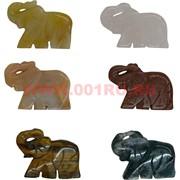 Слоники из натуральных камней 2,7х3,5 см