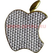 """Зажигалка газовая """"яблоко Apple"""" со стразами"""